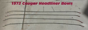 1971 1972 1973 Mercury Cougar Headliner Bows Rods With Tension Clips 71 72 73