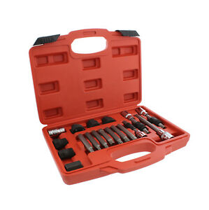Abn Alternator Pulley Decoupler 18 Piece Socket Set Pulley Removal Tool Kit