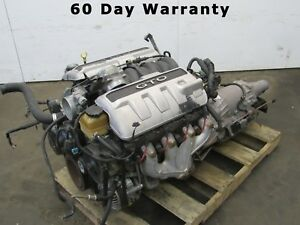 04 Pontiac Gto 5 7l Ls1 Complete Drop Lift Out Engine Motor Trans Package 158k A