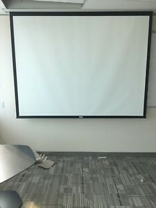 Da lite Advantage Electrol 84257 120 Diagonal Motorized Projector Screen