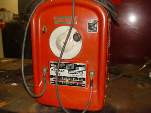 Welder Lincoln Ideal Arc 250 Ac dc Single Phase