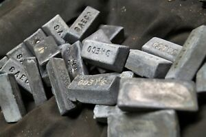 20 pounds of lead ingots for bullet casting