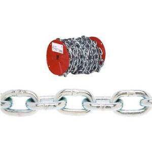 65 Steel Zinc Plated 1 4 Load Binding Logging Towing Proof Coil Chain 0722127