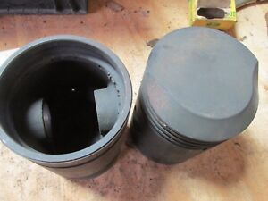 Nos John Deere Mid Styled B Gas New Old Stock Piston Kit B2724r Ab3992r