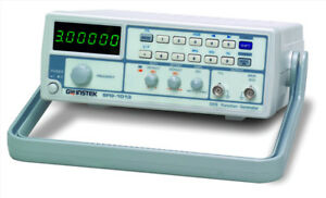 New Instek Sfg 1013 3mhz Dds Function Generator With Voltage Display
