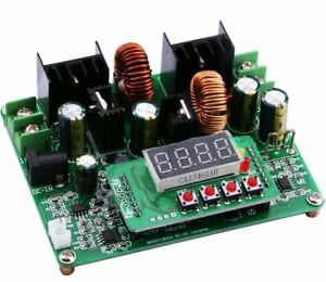 Yeeco Numerical Control Dc Dc Boost Buck Voltage Converter 38v 6a Step Up Down