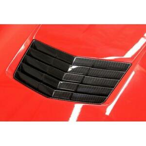 Apr Performance Carbon Fiber Hood Air Vent Chevy Corvette C7 14 For Cooling