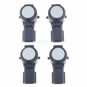 Us 4 Pcs Parking Sensor Bumper Object Aid Backup Pdc For Gmc Cadillac 52050134