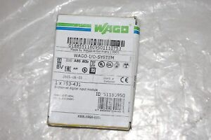 Wago Field Side Digital Input Module 753 431
