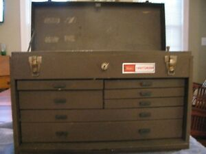 Craftsman Metal Machinist Tool Chest Box