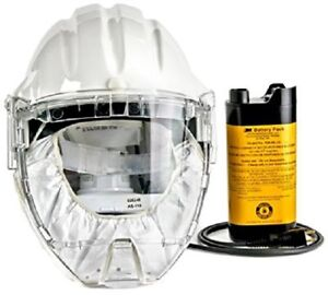 3m 76559 Airstream Headgear mounted Powered Air Purifying Respirator Papr System