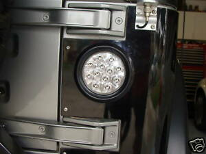 Pair 2 Jeep Wrangler Led Tail Lights Clear Lens Tj Yj Mj Cj