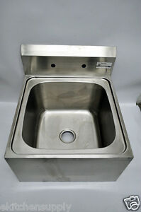 Pantin Stainless Steel Mop Sink Size 24x26x14 Model Psm 2020b Commercial