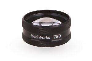 78d Diagnostic Retina Lens By Mediworks Aspheric And Multi coated Glass