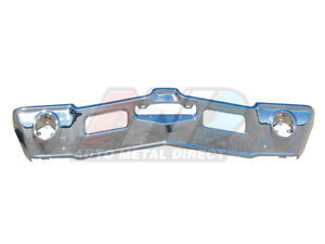 1971 1972 Cutlass S 442 Supreme Front Bumper Triple Chrome Plated Amd Stamping