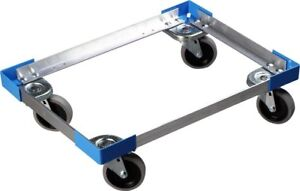 Carlisle Cateraide Pc300n End loading Food Pan Carrier Dolly Aluminum