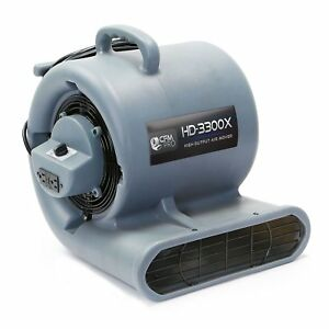 Cfm Pro Air Mover Carpet Floor Dryer 3 Speed 1 3 Hp Blower Fan With 2 Gfci
