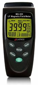 Latnex Mg 300 Lf Magnetic Field Meter Measures Emf Radiation From High power