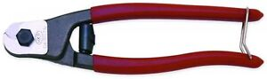 H k Porter 7 1 2 In Pocket Wire Rope And Cable Cutters Comfortable Red Vinyl