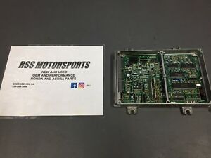 P28 Socketed Ecu Honda Civic Integra Prelude Obd1 Obd 1 Computer Chipped Vtec