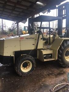 Ingersol Rand Rt708h All Terrain Forklift woodworking construction