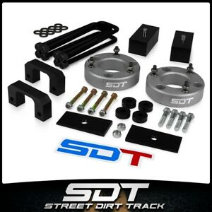 For 07 18 Chevy Gmc Silverado Sierra 3 5 Front 3 Rear Lift Kit W shims Diff