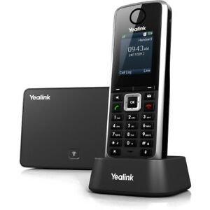 Yealink W52p Ip Phone Wireless Dect Desktop Wall Mountable
