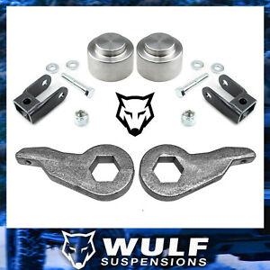 3 2 Full Leveling Lift Kit 2000 06 Chevy Gmc Tahoe Yukon Suburban 1500 4wd