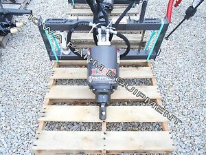 Mcmillen X1975 Skidsteer Post Hole Digger Auger Drive Mount Hoses 15 30gpm