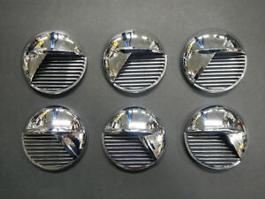 51 52 Buick Super Special Fender Porthole Front Portholes Set Of 6 1951 1952 New