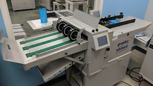 Graphic Whizard Pt 375akf Automatic Creasing Folding Machine Horizon Morgana