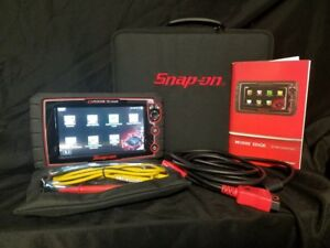 Snap on Modis Edge Diagnostic Scanner 16 4 Euro Asian Domestic Eems341