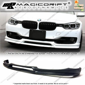 For 12 15 Bmw F30 Base 3 series 3d Style Pu Front Bumper Lip Spoiler Body Kit