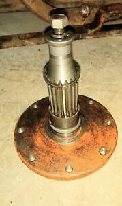 Allis Chalmers Wd Tractor Final Drive Axle Hub Assembly Ac Part Wd45