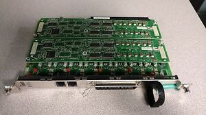Panasonic Kx tda0181 16 port Co Trunk Card W 2 kx tda0193 8 port Caller Id Cards