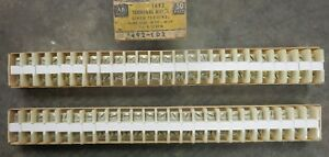 Allen bradley 1492 cd3 Terminal Block lot Of 50 Series A
