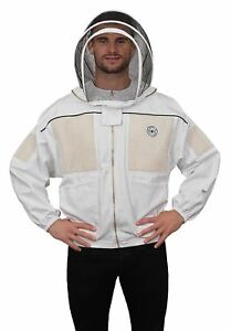 Humble Bee 331 xxl Ventilated Beekeeping Jacket With Fencing Veil xx Large
