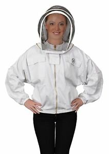Humble Bee 311 m Polycotton Beekeeping Jacket With Fencing Veil medium
