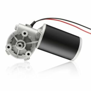 Uxcell High Torque Dc 12v 160rpm Reversible Electric Gear Motor 80w 3n m jcf63r