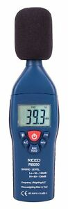 Reed Instruments R8050 Sound Level Meter Type 2 30 100 And 60 130db 1 4 Db