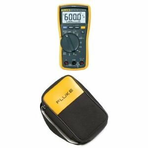 Fluke 117 Electricians True Rms Multimeter With Polyester Soft Carrying Case