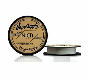 28 Gauge Awg Nichrome Series 80 Resistance Wire 500 Ft Spool