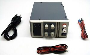 Eventek Adjustable Switching Regulated Dc Power Supply Kps305d 288900