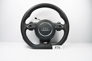 Audi S Line A6 A7 A8 S6 S7 S8 Rs6 Rs7 Steering Wheel Flat Botton 76