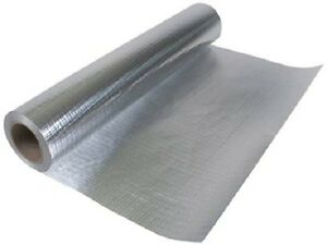 Radiant Barrier Perforated Reflective Insulation 25 5 1000 Sqft Attic Foil