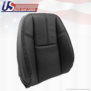 2007 2014 Chevy Avalanche Hd Upper Top Leather Seat Cover Black Left Or Right