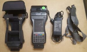 Casio It9000 Handheld Terminal Card Reader bluetooth nfc printer cmos Imager A