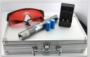 Laser Pointer Pen 10 Mile Most Powerful Blue Laser Pointer With Metal Box Charge