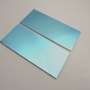 25 Thick 1 4 Precision Cast Aluminum Plate 13 5 x 22 25 Long Qty 2 Sku105898
