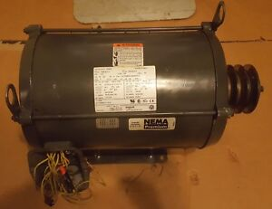 U s Electric Motor 10hp 1765rpm D10p2b 230 460vac 3 phase Continuous Db51 Nidec